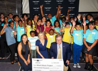 Miami Music Project receives $100K grant from Genesis Motor America
