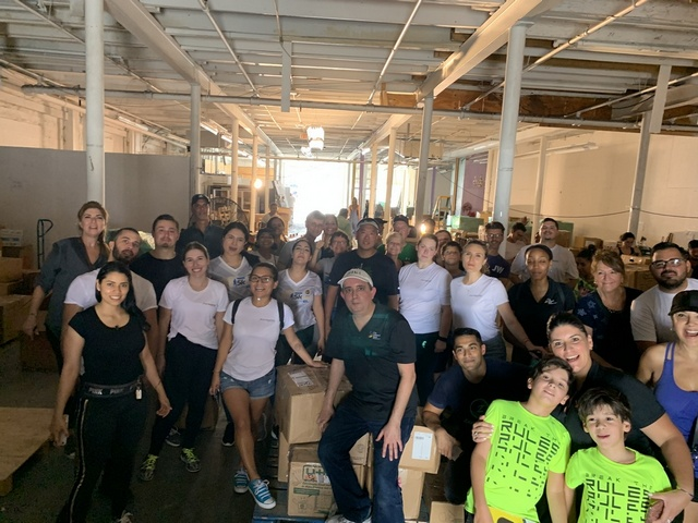 City National Bank volunteers gather to aid Hurricane Dorian relief efforts