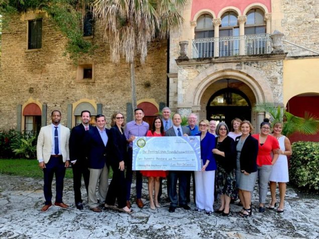 State presents $200,000 check to Deering Estate Foundation
