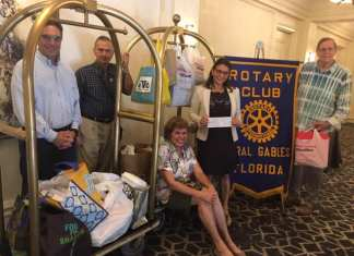 Gables Rotarians and Bar Association benefit from joint mixers