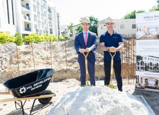 MG Developer breaks ground on second half of Biltmore Square