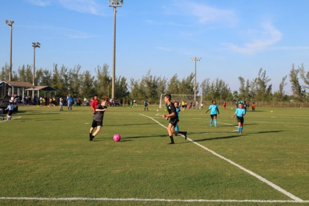Homestead inaugurates new soccer fields with season opening ceremony
