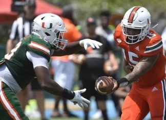 Hurricane football tickets : Buy one and get two free