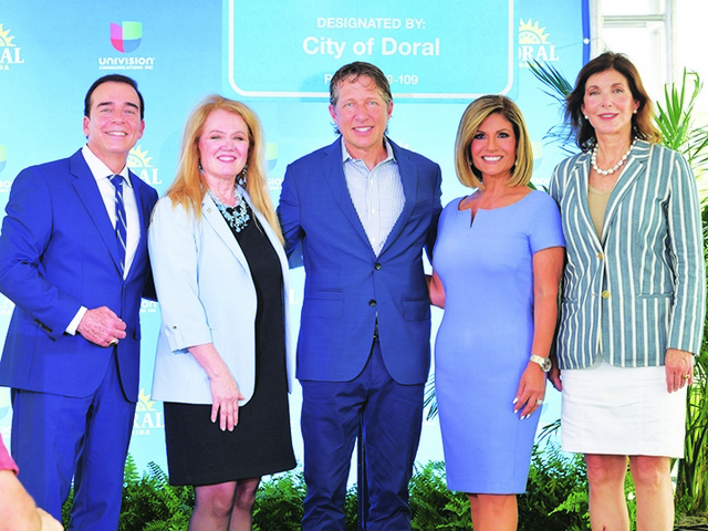 City and county pave the way for co-designation of 'Univision Way'