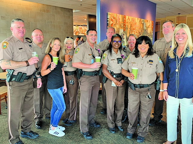 'Coffee with Cops' celebrated in Palmetto Bay