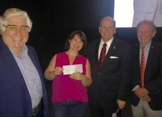Coral Gables Rotary Foundation presents grant award to Coral Gables Art Cinema
