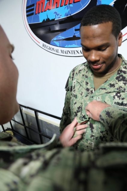 Miami Sailor promoted to Petty Officer First Class