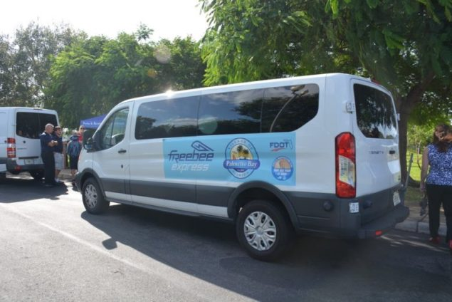 Village officially launches new Freebee Express Park & Ride