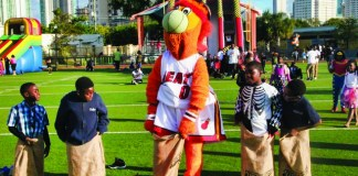 Halloween Safe Day to feature Heat's Burnie, Canes' Sebastian