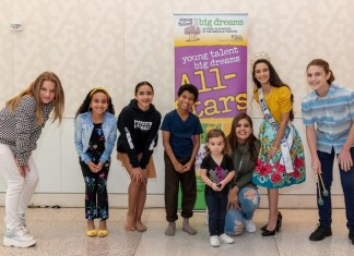 Young Talent Big Dreams All Stars perform for MCI pediatric patients