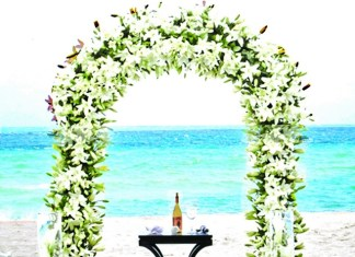 Acqualina resort & spa offers an intimate elopement on the beach for the most special celebration
