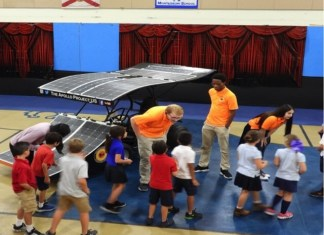 Apollo Project gets students revved up about solar power