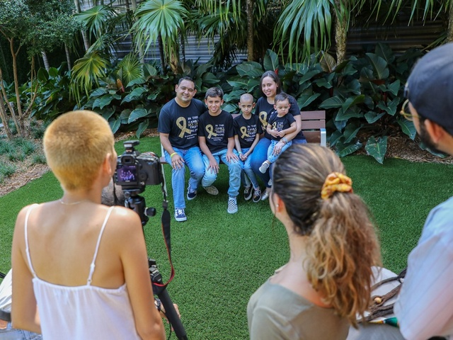 MDC's photographers capture journey of pediatric cancer patients at MCI