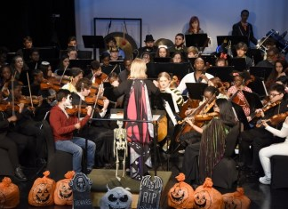 Inner city youth, families enjoy free 'Spooky Tunes' Halloween concert