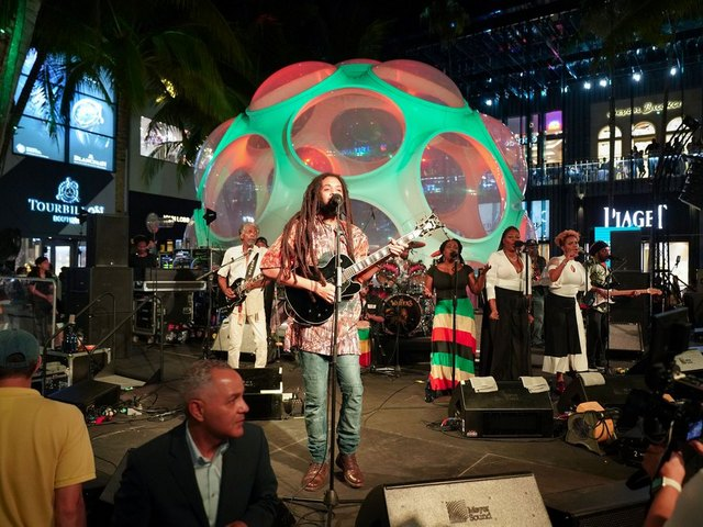 Design District's Performance Series welcomes the Wailers