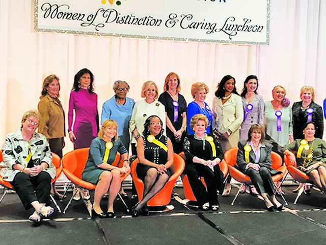 November luncheon, bike ride, walks and more raise funds for charity
