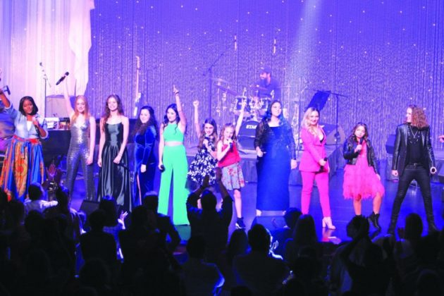 Young Star singers electrify the YOUNG STARS SHOWCASE