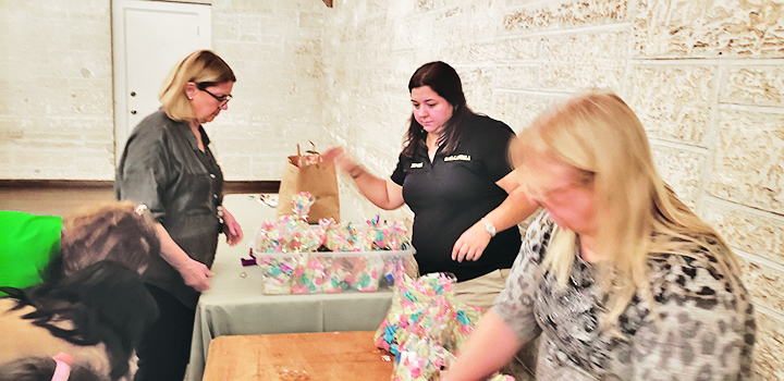 Gables Woman's Club meeting is all about giving