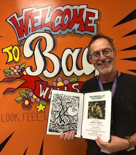 CBSHS art teacher nominated for 2021 Francisco R. Walker Teacher of the Year