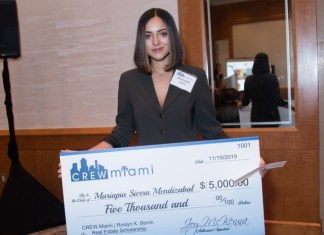 First Roslyn K. Berrin Real Estate Scholarship recipient announced