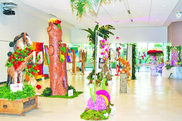 Art and nature collide at 2019 Doral Art and Flowers Festival