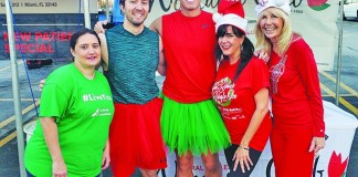 Jingle Bells Run kicked off a fun month of events