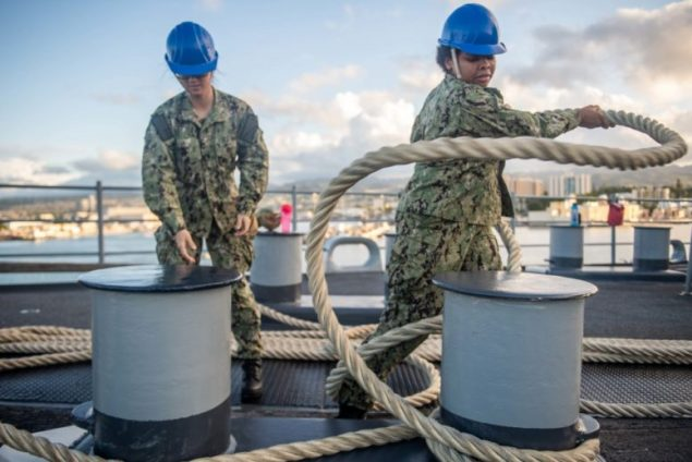 Miami Sailor serving aboard amphibious ship in Pacific