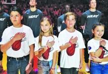 St. Thomas Miami Heat Family Fun Night celebrated, Dec. 8