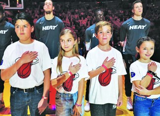 St. Thomas Miami Heat Family Fun Night celebrated, Dec. 8
