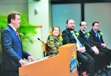 Mayor Tim Meerbott gives his first State of the Town Address