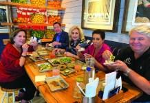 Mayor Weisman learns art of creating tacos at bartaco