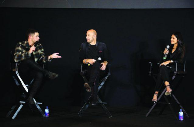 Nick Jonas and John Varvatos launch fragrance with fan Meet & Greet at Macy's