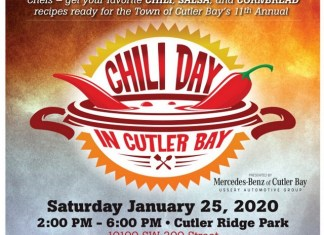 11th annual Chili Day in Cutler Bay returns Jan. 25