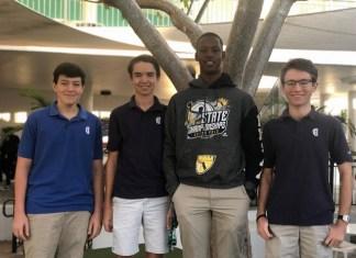 Four Gulliver Prep students capture FL-27 Congressional App Challenge