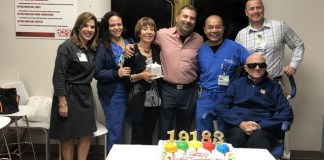 Patient credits emergency care center team with saving her life
