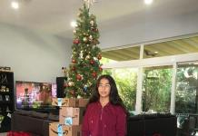 Gabriella Prieto captures true spirit of Christmas through her gift-giving project