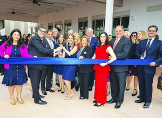 Downtown Doral Charter Upper School hosts dedication ceremony