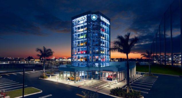 Carvana debuts 24th Car Vending Machine in Doral