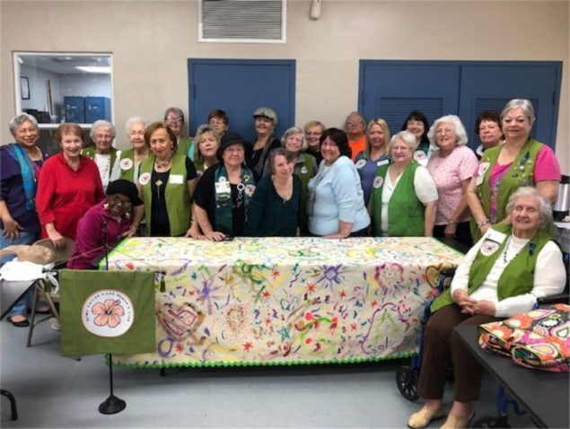 Cutler Ridge Woman's Club enters art project at GFWC