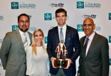 Eli Manning provides leadership at recent Super Bowl Breakfast