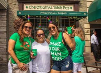 St. Patrick scheduled to appear at JohnMartin's Irish Pub party