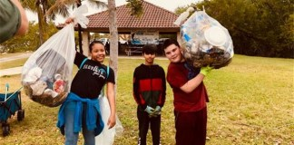 Whigham Elementary hosts 2020 Wetlands Day Cleanup