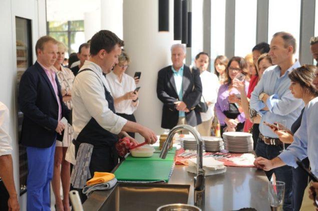 Aston Martin luxury development celebrates beauty of kitchen living