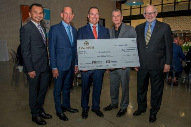 Bacardi USA donates $5 million to Florida International University