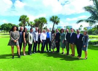 Don Soffer meets with business leaders