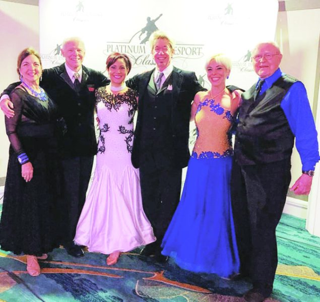Winners at the Platinum Dancesport Challenge