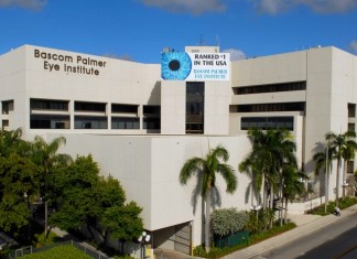 Bascom Palmer Eye Institute ranked No. 1 for 19th time