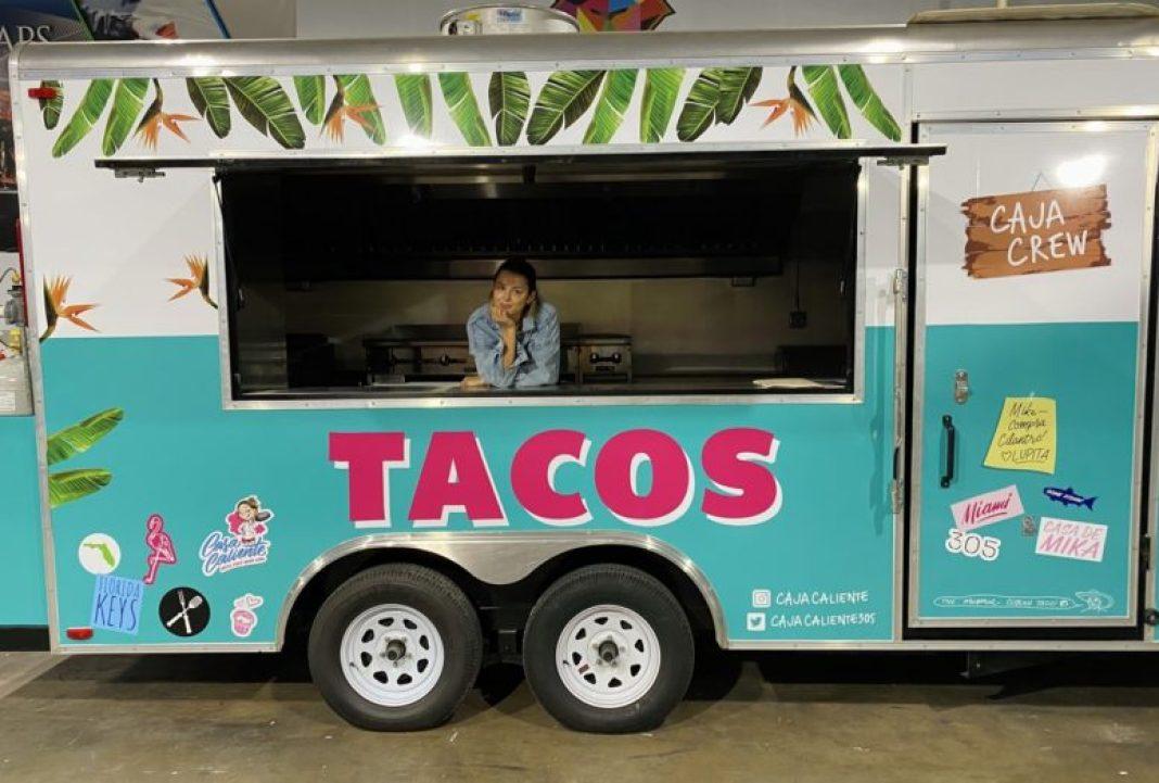 Caja Caliente's Food Truck finds permanent home in Miami Design District