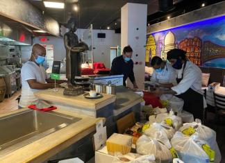 'Grove Stove' keeps restaurants cooking and the community fed