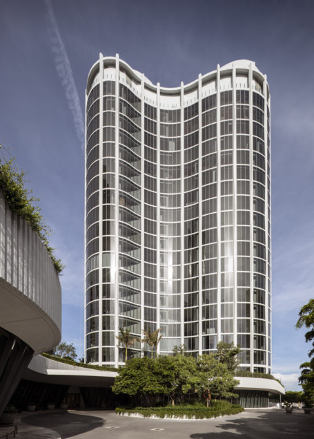 Terra, Related Group complete 66-unit One Park Grove tower